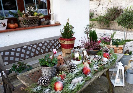 Decorez votre jardin pour noel
