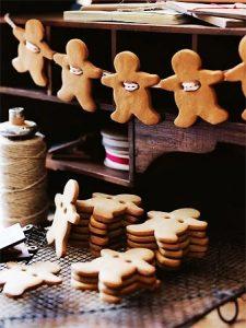 Guirlande en biscuits