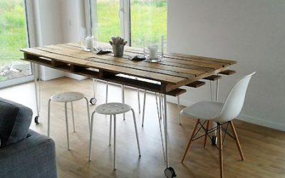 Fabriquez votre table de salle à manger en palette