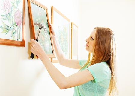 Creer galerie photo sur un mur